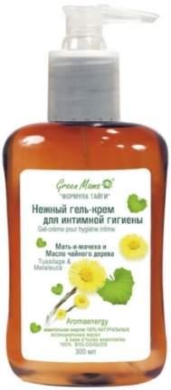 Гель-крем для интимной гигиены GREEN MAMA Мать-и-мачеха и чайное дерево, 300 мл