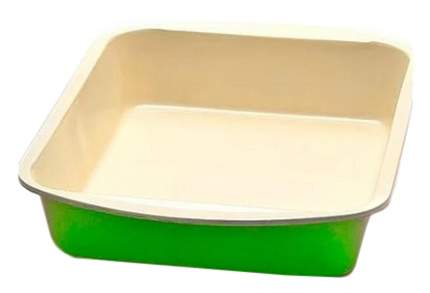 22253 Противень 45х30 см салатовыйкерамика МВ (х6)
