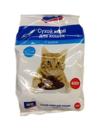 Сухой корм для кошек Aro, рыба, 0,4кг
