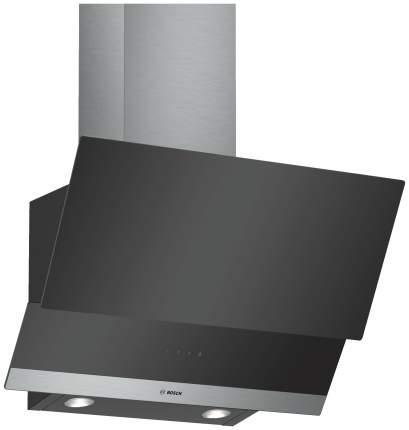 Вытяжка наклонная Bosch DWK065G60R Black/Silver
