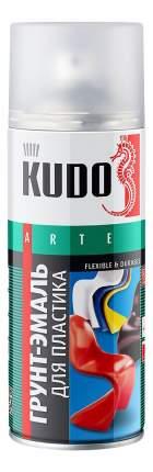 Эмаль для пластика белая KUDO ,520 мл
