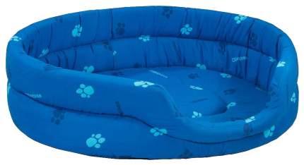 Лежанка для кошек и собак Дарэлл 33x42x15см синий