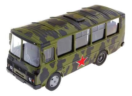 Машина военная Autotime ПАЗ-32053 армейский 1:43