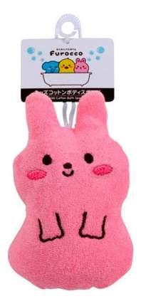 Мочалка детская Kokubo Розовый кролик