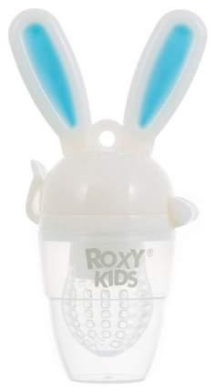 Ниблер для прикорма Roxy-kids  BUNNY TWIST голубой