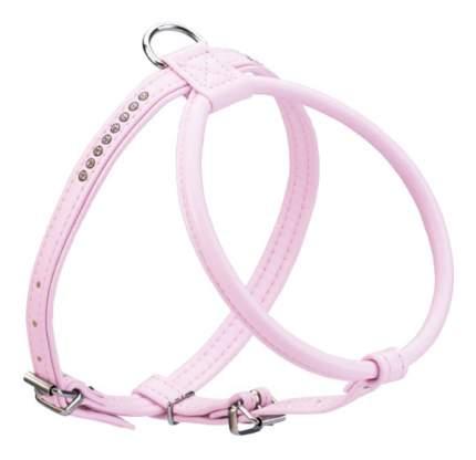 Шлейка для собак Hunter Smart Modern Art R&S Luxus 45/11 (30/37-43 см) кожзам розовый