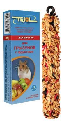 Лакомство для грызунов Triol с фруктами, 3 шт, 115