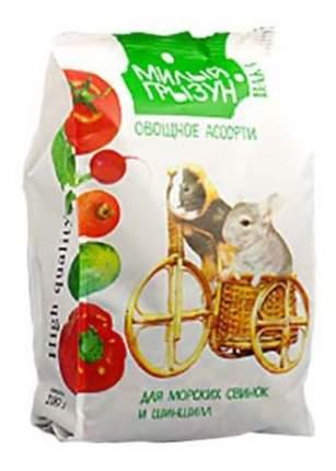Корм для шиншилл Вака Милый грызун, овощное ассорти, 0,2 кг