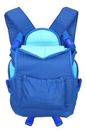 Рюкзак для переноски детей Фея Хлопок синий