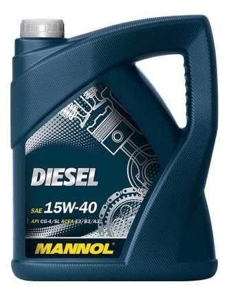 Моторное масло Mannol Diesel 15W-40 5л