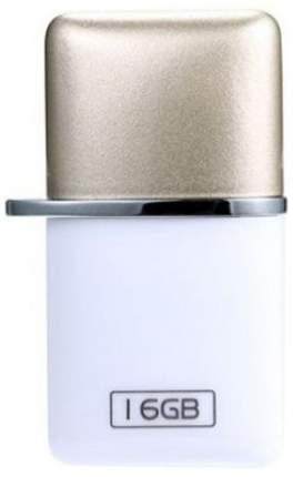 Флэш диск OTG Remax USB Flash Drive RX-803 16GB Белый/Золотистый
