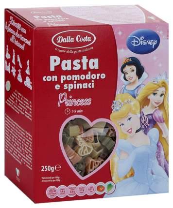Макароны Dalla Costa Disney Принцесса со шпинатом и томатами 250 г