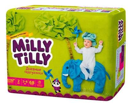 Подгузники для новорожденных Milly Tilly Mini 2 (3-6 кг), 68 шт.