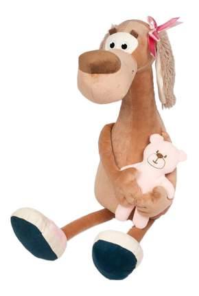 Мягкая игрушка Maxitoys Собачка Мила с Мишкой, 23 см