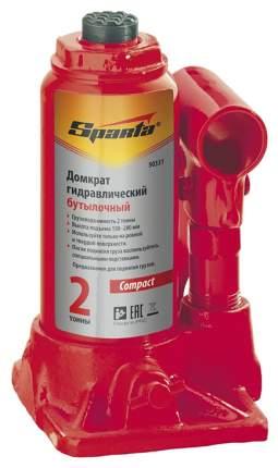 Домкрат гидравлический бутылочный Sparta 50337 16 т высота подъема 205-400 мм