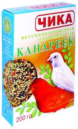 Основной корм Чика для канареек 200 г, 1 шт