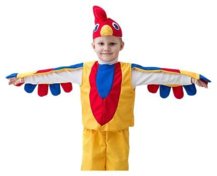 Карнавальный костюм Бока Петушок Золотой 1106 рост 116 см
