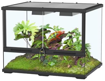 Террариум для рептилий Aquatlantis Smart Line, черный, 45 x 45 x 60 см