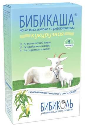 Молочная каша БИБИКОЛЬ БИБИКАША Кукурузная на козьем молоке с 5 мес 200 г