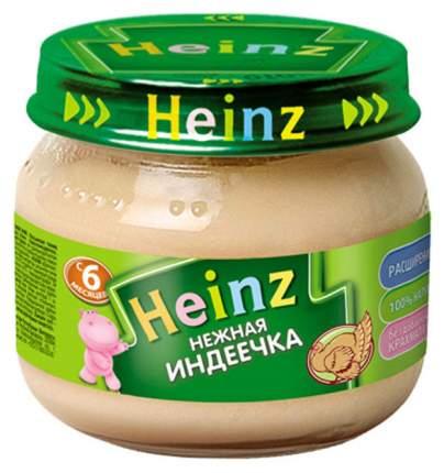 Пюре мясное Heinz Нежная индеечка с 6 мес 80 г