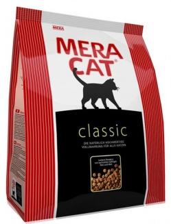 Сухой корм для кошек MERA Classic, курица, 2кг