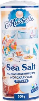 Соль морская пищевая Marbelle натуральная мелкая 500 г