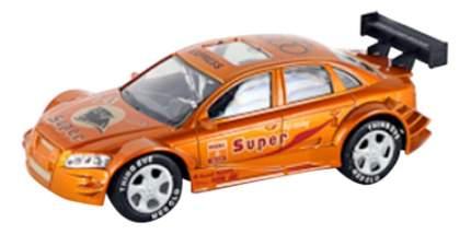 Машинка спортивная инерционная Super золотистая Gratwest В31639