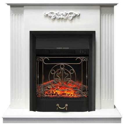 Электрокамин Royal Flame Lumsden с очагом Majestic BL Белый; Черный