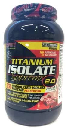 Протеин SAN Titanium Isolate Supreme 2.0 908 г Strawberry Yoghurt