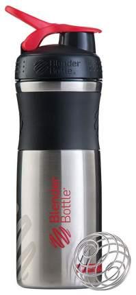 Шейкер Blender Bottle SportMixer Stainless 828 мл black/red