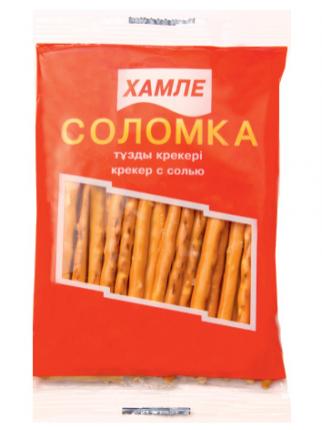Крекер с солью Hamle соломка 40 г