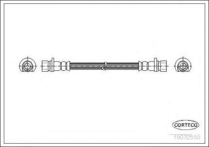 Шланг тормозной системы Corteco 19032550