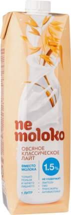 Напиток овсяный Ne moloko классический лайт 1.5% 1 л