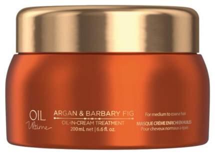 Маска для волос Schwarzkopf Professional Oil Ultime Oil-in-Cream Treatment 200 мл