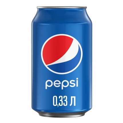 Напиток газированный Pepsi жестяная банка 0.33 л