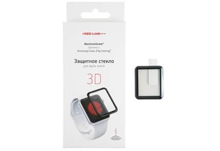 Защитное стекло Red Line Corning для Apple Watch 38 мм Full screen (3D) tempered glass