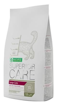 Сухой корм для кошек Nature's Protection Superior Care Large Cats, для крупных пород, 15кг