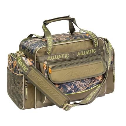 Туристическая сумка Aquatic СО-09 45 л зеленая