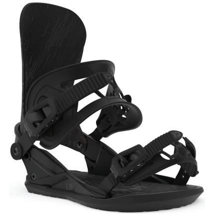 Крепления для сноуборда Union Ultra 2020, черные, L