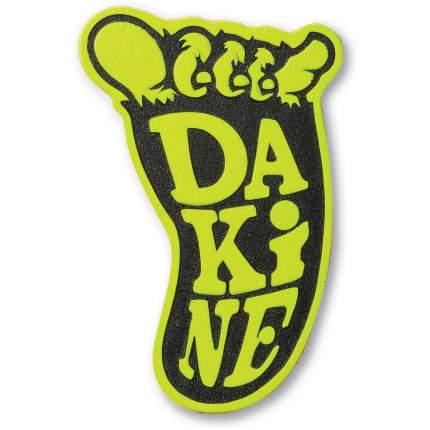 Наклейка на сноуборд Dakine Shakasquatch Stomp, black/citron