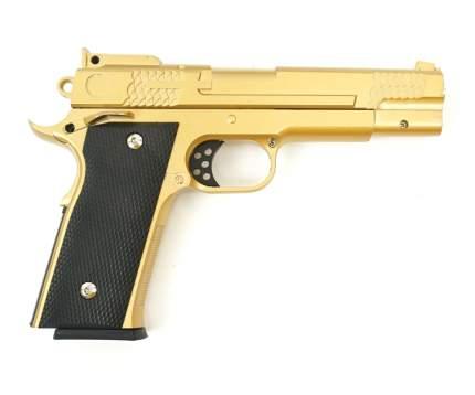 Страйкбольный пружинный пистолет Galaxy  Китай (кал. 6 мм) G.20GD (золотистый)