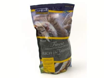 Сухой корм для кошек Fish4Cats Finest Sardine, сардины, 1,5кг