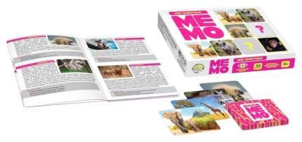 Настольная игра Мемо. Мир животных 03590 Десятое Королевство