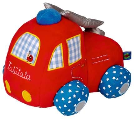 Машинка мягкая Spiegelburg Бэби Глюк Пожарная