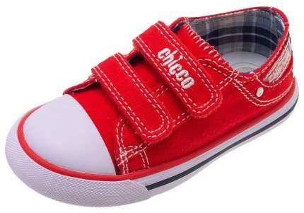 Кеды Chicco, размер 26, цвет красный