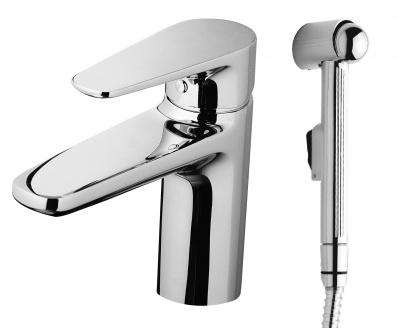 Смеситель с гигиеническим душем AM.PM Inspire F5004000 хром