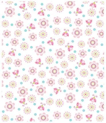 Плед Baby Nice Цветы 150x200 розовый