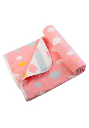 Плед Сонный гномик Тучки-Штучки розовый