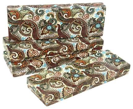 """Набор подарочных картонных коробок """"Персидские огурцы"""", 4 штуки, 10x30x4 см"""