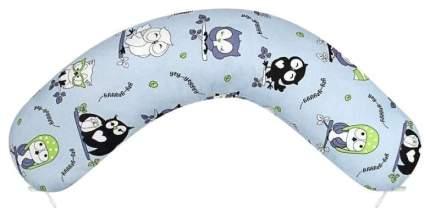 Наволочка WB к подушке для беременных AmaroBaby 170х25 (Совы)